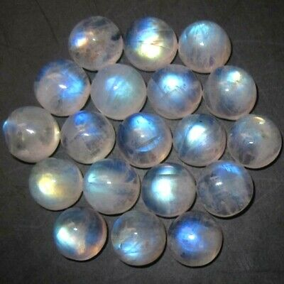 Wholesale Lot 4mm Round Cabochon Natural Moonstone Loose Calibrated Gemstone