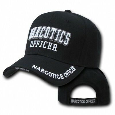 NARCOTICS OFFICER USA Police Deluxe Law Enforcement Cap Mütze