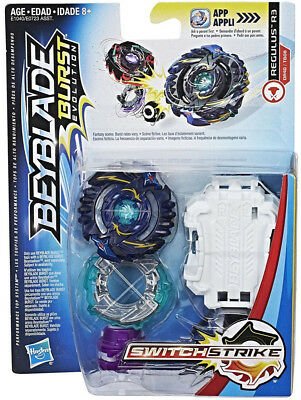 New Hasbro Beyblade Burst Evolution SwitchStrike Regulus R3 Balance Starter Pack