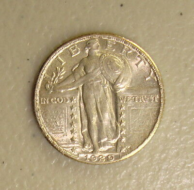 1929 Standing Liberty Silver Quarter Choice Uncirculated