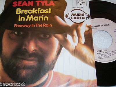 "7"" - Sean Tyla Breakfast in Marin & Freeway in the Rain - 1980 # 1496"