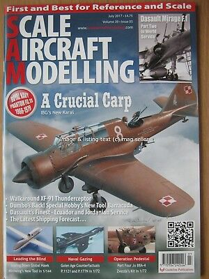 Scale Aircraft Modelling July 2017 IBG Karas Dasault Mirage F.1 Thunderceptor