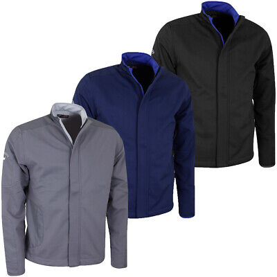 Callaway Golf Mens Softshell Thermal Stretch Wind Resistant Jacket 67% OFF RRP