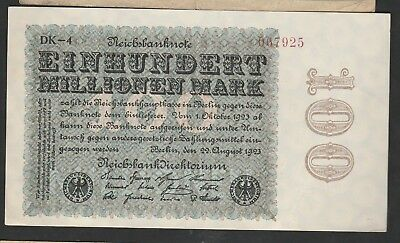100 Milliarden Mark From Germany 1923 XF