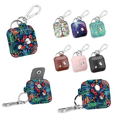 Tile Mate/ Sport/ Style Carabiner Keychain Case PU Leather Skin Protective Cover