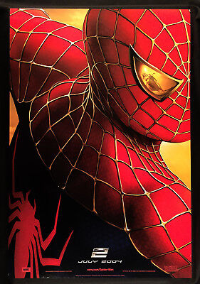 "Spider-Man 2 (2004) Advance Original Rolled Movie Poster 2-Sided 27"" X 40"""