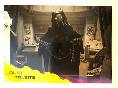 2018 Topps Solo Star Wars Story #61 Quay Tolsite YELLOW NrMint-Mint