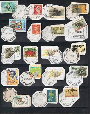 Selection Of N.s.w. Postmarks On Decimal Stamps.