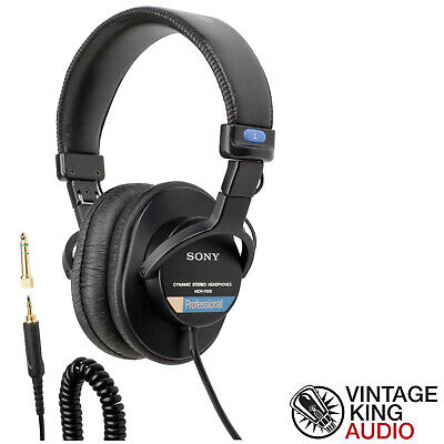Sony MDR-7506 Professional Closed-back Studio Headphones