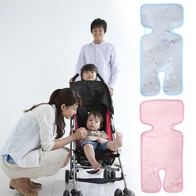 Baby Stroller Mat Summer Cool Non-woven Fabric Cushion Breathable Car Seat Chair