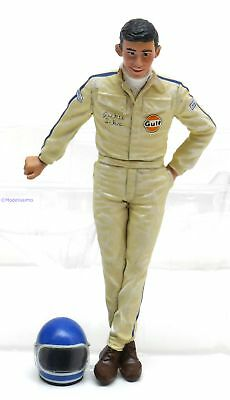 1:18 Le Mans Miniatures Ford figurine Winner Le Mans Jacky Ickx 1969