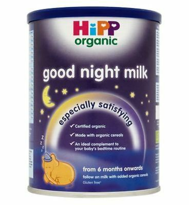 Hipp Organic Good Night Milk From 6 Months Onwards 350G - Pack of 2