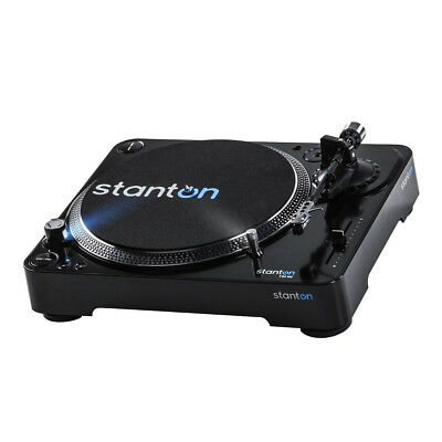 Stanton T62 M2 Straight Arm Direct-Drive Turntable with 500.V3 Cartridge