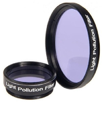 Optical Vision Light Pollution Filter For Telescope: 1.25