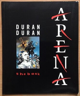 Duran Duran  Arena The Book   1985 Tritec Publications Paperback Book