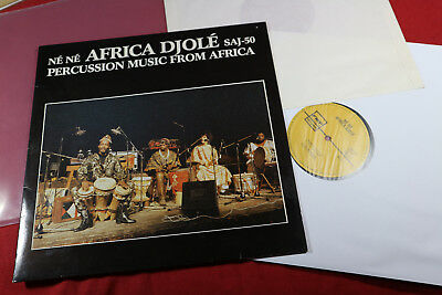 Africa Djole  NE NE - PERCUSSION MUSIC FROM AFRICA  LP FMP Germany 1984 sehr gut