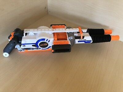Nerf N-Strike Elite Rhino Fire For Spares Or Repair Powers Up But Gets Stuck