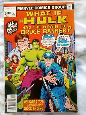 What If 2 (1977)  Hulk had the brain of Bruce Banner ?   [7.5]