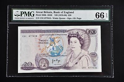 Great Britain 1970 pick#380b PMG66 EPQ ,618