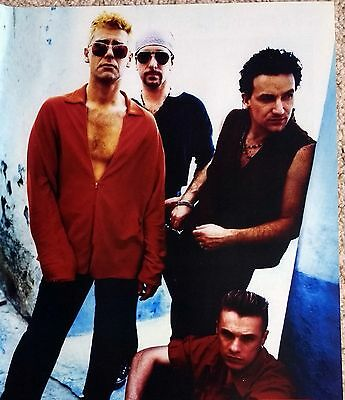 U2 - Magazine Photo Picture Cutting - Bono, The Edge - RARE