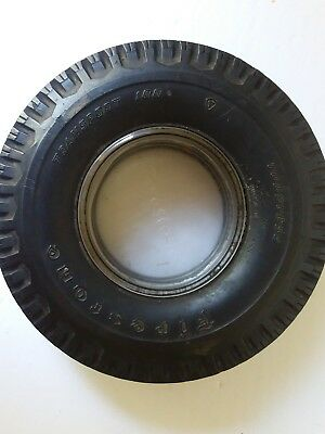 Ashtray Firestone Tire Collectibles  Vintage Rubber  Mancave