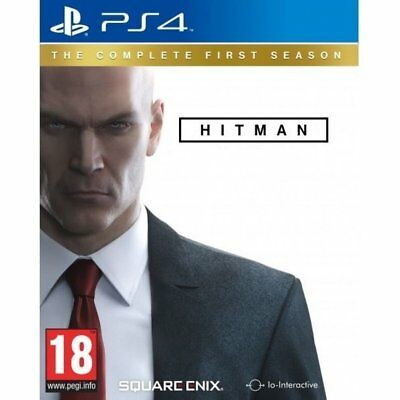 Hitman: The Complete First Season (PS4)  BRAND NEW AND SEALED - QUICK DISPATCH
