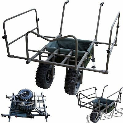 Delta Fishing Trolley Goliath Double Wheel Carp Barrow Xl Angelkarre Tasche Kva