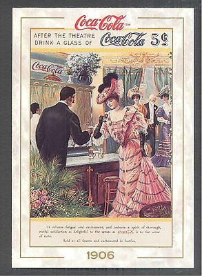 Year 1906: Couple After The Theater, 1993 Coca-Cola Series 1 Card #11