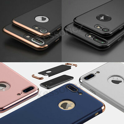 Case for iPhone 6 7 8 Plus XS Cover 360 Luxury UltraThin Shockproof Hybrid Slim