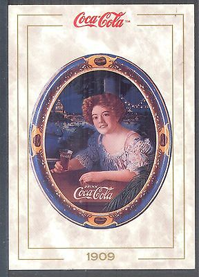 Year 1909: Coca-Cola Girl on Serving Tray, 1993 Coca-Cola Series 1 Card #13