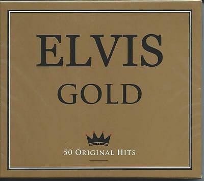 Elvis Presley - Gold - 50 Original Greatest Hits / The Best Of 2CD NEW/SEALED