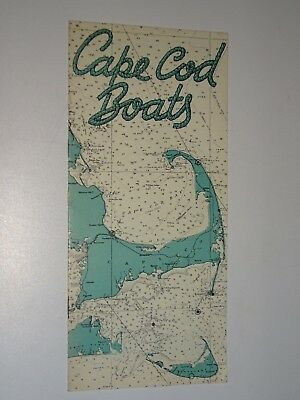 1940's Vintage Cape Cod Boats Sales brochure booklet