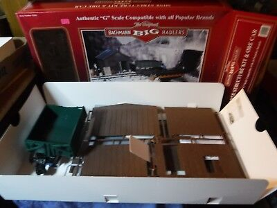 NIB Bachmann  Big Haulers G Scale Mine Structure Kit & Ore Car Opened to Secure