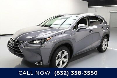 Lexus NX 4dr Crossover Texas Direct Auto 2017 4dr Crossover Used Turbo 2L I4 16V Automatic FWD SUV