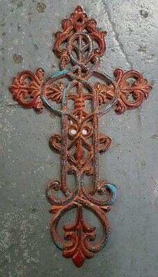 Cast Iron Cross Wall Hanging
