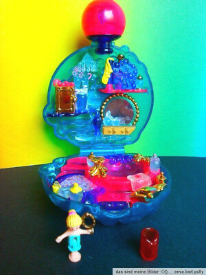 Polly Pocket Mini💖💕 Bubbly bath Blubberdose  1996 💖💕  100 % komplett