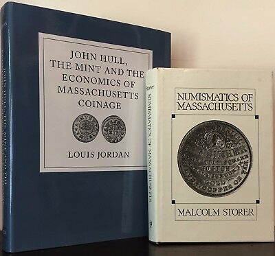 2 Works on Massachusetts Numismatic History, Jordan & Storer