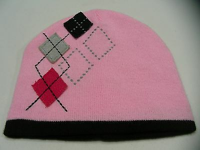 Faded Glory - Pink - Women's One Size Stocking Cap Beanie Hat