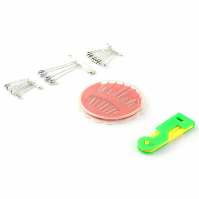 Household Tailor Craft Sewing Needles Needle Threader Pins Tool Set