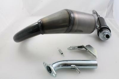 "Exhaust "" Simonini "" down & Forward Vespa PK125"