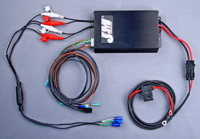 J&M Audio 400 Watt 4 Channel Universal Amp Kit for 1998-2013 Harley-Davidson