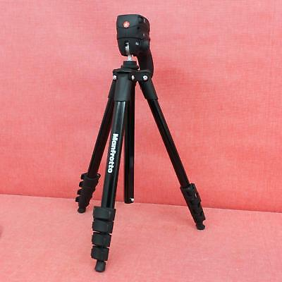 Manfrotto (MKCOMPACTACN-BK) - Compact Action - Hybrid Head -  Aluminum Tripod