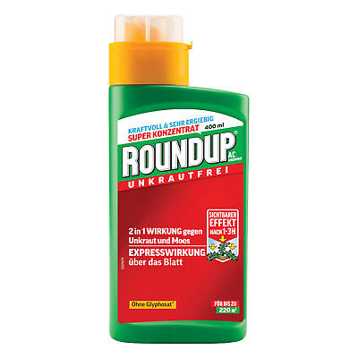 Roundup AC Concentrate 400 ml - Weed Killer glyphosatfrei Weed Moss