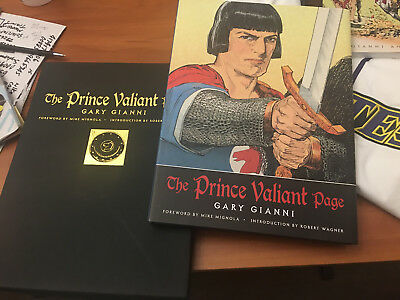 Prince Valiant  Hal Foster Book Gary Gianni With Slip Case Prince Valiant Page