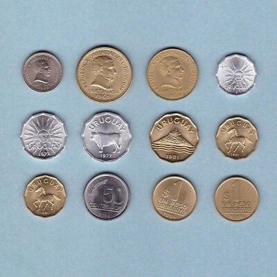 Uruguay - Coin Collection - Lot D-5 - World/Foreign/South America