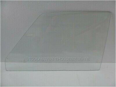 MAZDA 1000 - 1967 to 1973 - UTE - LEFT SIDE FRONT DOOR GLASS - CLEAR - NEW