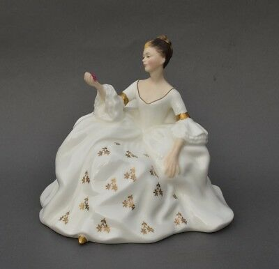 Vintage Royal Doulton Lady Figurine: HN2339 MY LOVE - Perfect Condition