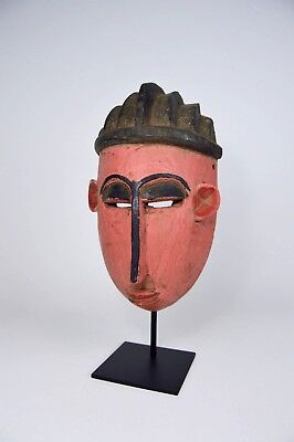 A Fantastic Bambara / Bozo Painted Festival Mask, African Art, African Mask