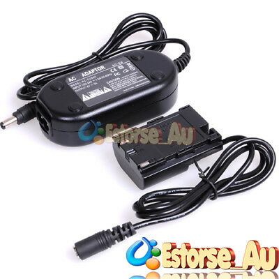 AC Adapter Charger ACK-E6+DC Coupler For Canon EOS 5D Mark II III 7D 60D 70D 80D