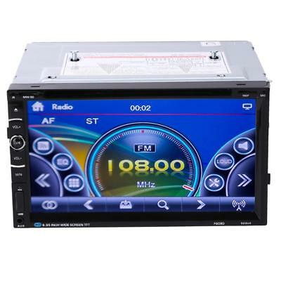 """7"""" 2 DIN Double DIN Android Bluetooth HD Car Stereo DVD Player USB GPS + 8GTF"""